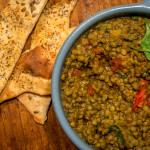 Sweet Lentils with Cumin and Tomato