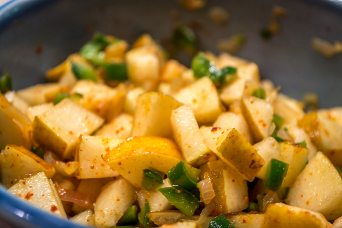 Pear Lime Salsa
