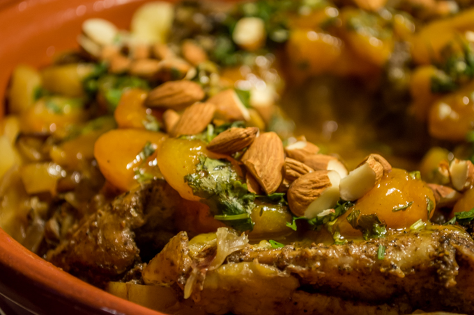 Chicken Tagine with Apricots